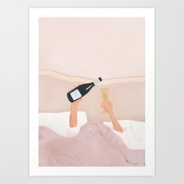 Morning Wine Art Print