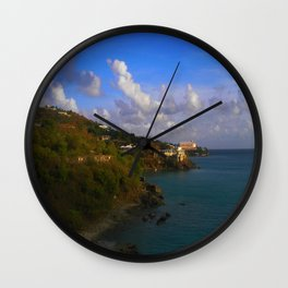 ISLAND DREAMS Wall Clock