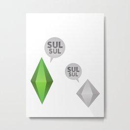 TheSIMS4 # SulSul # Metal Print