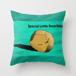 Special Little Snowflake Throw Pillow