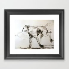 The Wild One Framed Art Print
