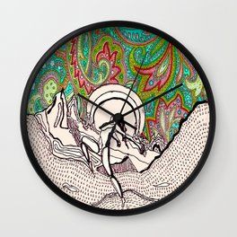 Get out there and live Wall Clock