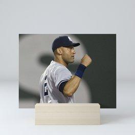 𝓜𝓛𝓑 - Society6 - New York - Hall Of Fame - Baseball - Derek Sanderson 𝕵𝖊𝖙𝖊𝖗 - 2 - A5 Mini Art Print