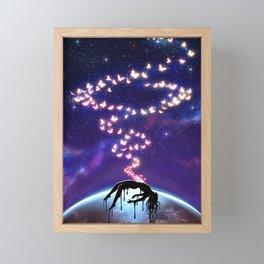 Butterfly Sin Framed Mini Art Print