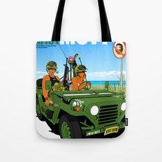 Marine Corps Honeys - Green Edition Tote Bag