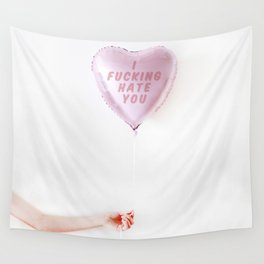 Love Hurts. Wall Tapestry