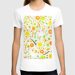 Fruits and vegetables pattern (13) T-shirt