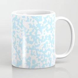 Small Spots - White and Light Blue Coffee Mug
