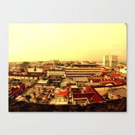 Guatemala zona 1. Canvas Print