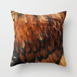 Feathers Too Throw Pillow