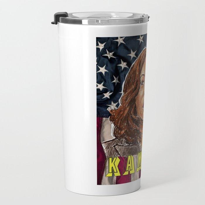 Kamala Harris Travel Mug