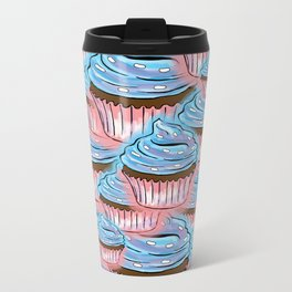 Lots of Cup Cakes Metal Travel Mug