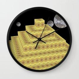 Pyramide Grotesque 24 Wall Clock
