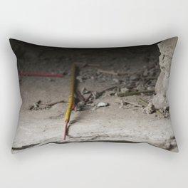 Incense, In a sense Rectangular Pillow