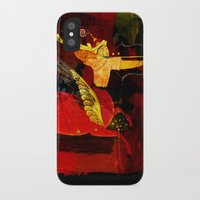 boxing iPhone & iPod Cases featuring Boxing Sagittarius by Genco Demirer