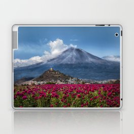 Popocatepetl Volcano Puebla Mexico Laptop & iPad Skin
