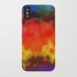 Sweet Galaxy of Color iPhone Case