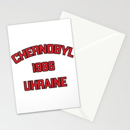 Chernobyl, Ukraine, 1986 Stationery Cards
