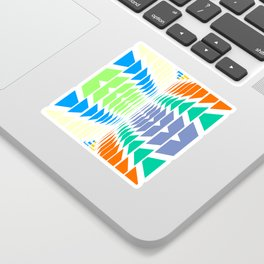INDIAN ABSTRACT Sticker