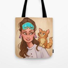 Holly & Cat Tote Bag