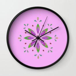 Pink 2 Wall Clock