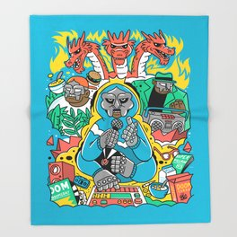 MF DOOM & Friends Throw Blanket