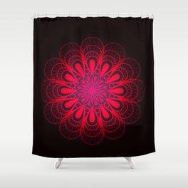 Riveting Rose Shower Curtain