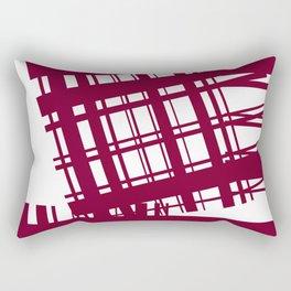 Cut Out The Criss Cross Rectangular Pillow