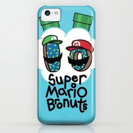 Super Mario Bronuts iPhone Case