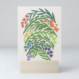Floral Rainbow Mini Art Print