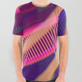 Color Wave ~018~ All Over Graphic Tee