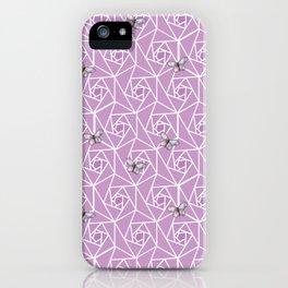 Roses & Butterflies iPhone Case
