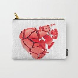 Broken 3d heart Carry-All Pouch