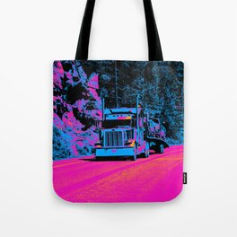 Big Rig Highway Hauler Tote Bag