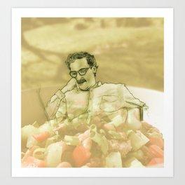 Joaqu-in Salad Art Print