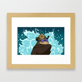 I Want To Be, Jabba Your World Framed Art Print