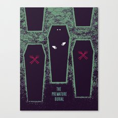 The Premature Burial Canvas Print