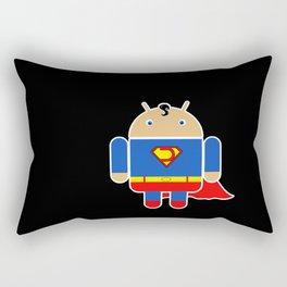 Super Droid Rectangular Pillow