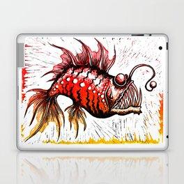 Angler Fish Laptop & iPad Skin