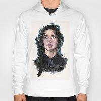 katniss Hoodies featuring Katniss Everdeen by vooce & kat