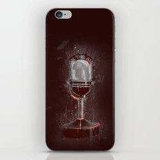DARK MICROPHONE iPhone & iPod Skin