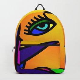 Pop Art Girl Backpack