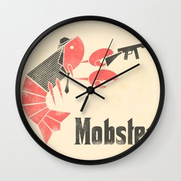 Mobster Wall Clock