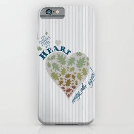 Coming Alive iPhone Case
