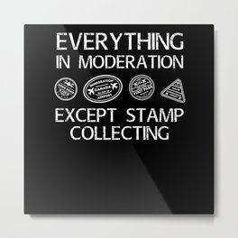 There, I Fixed It! Stamp Metal Print