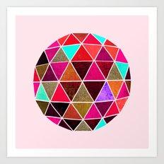 Geodesic 4 Art Print