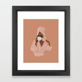 Treat Yourself Framed Art Print