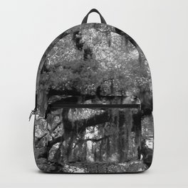 Oak and Moss in Black and White, Study 2 Backpack