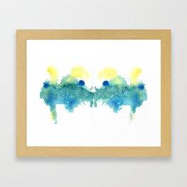 Ink Swell II Framed Art Print