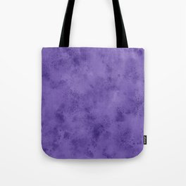 Watercolor Splattering in Ultra Violet (2018 Pantone color) Tote Bag